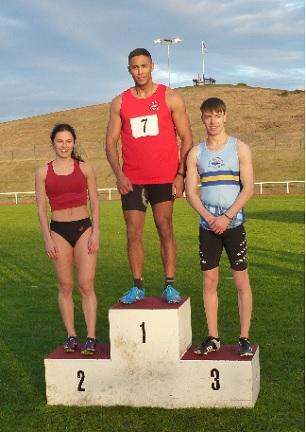 Cameron Lindsay - 200 metres Open winner