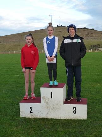Ava Lees - 200 metres age under 13 winner