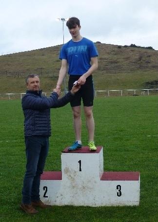 Callum Gladwin - 90 metres Youths Winner
