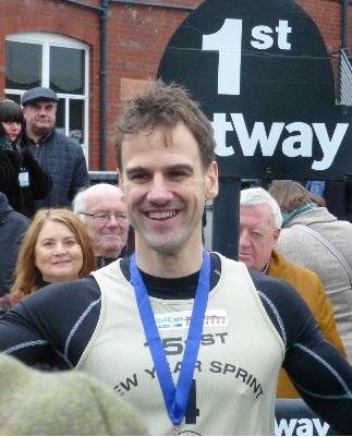 Ian Horsburgh - New Year Sprint winner